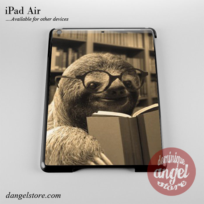 Librarian Sloth Phone Case for iPad Devices