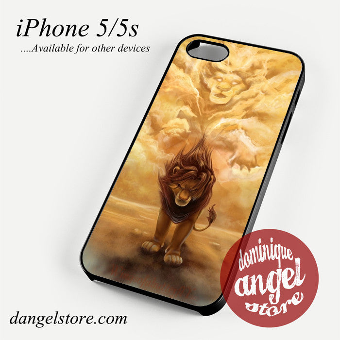 lion king simba back to home Phone case for iPhone 4/4s/5/5c/5s/6/6 plus