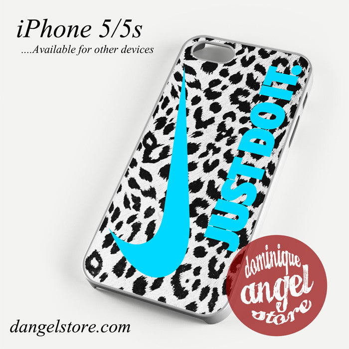 nike leopard just do it Phone case for iPhone 4/4s/5/5c/5s/6/6 plus