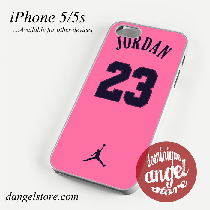 pink air jordan Phone case for iPhone 4/4s/5/5c/5s/6/6 plus
