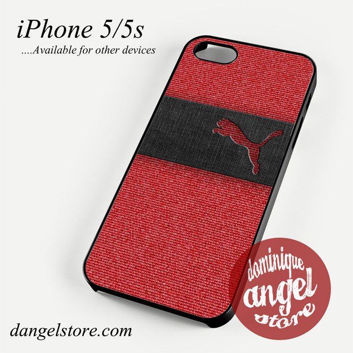 puma red jeans texture Phone case for iPhone 4/4s/5/5c/5s/6/6 plus