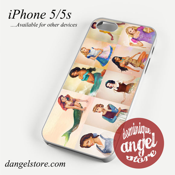 realistic disney princess Phone case for iPhone 4/4s/5/5c/5s/6/6 plus