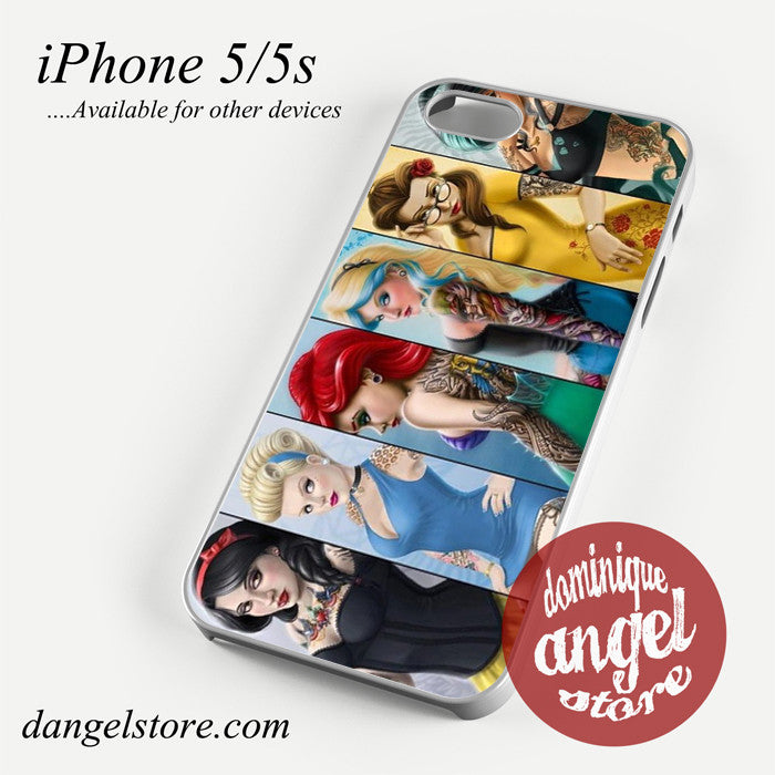 realistic disney princesses Phone case for iPhone 4/4s/5/5c/5s/6/6 plus