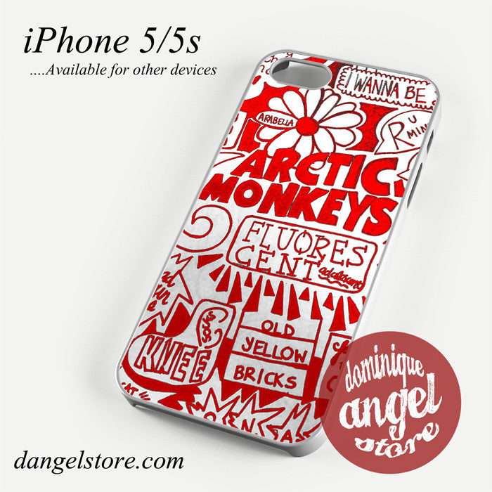 red art arctic monkeys Phone case for iPhone 4/4s/5/5c/5s/6/6 plus