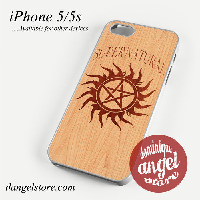 supernatural wood Phone case for iPhone 4/4s/5/5c/5s/6/6 plus