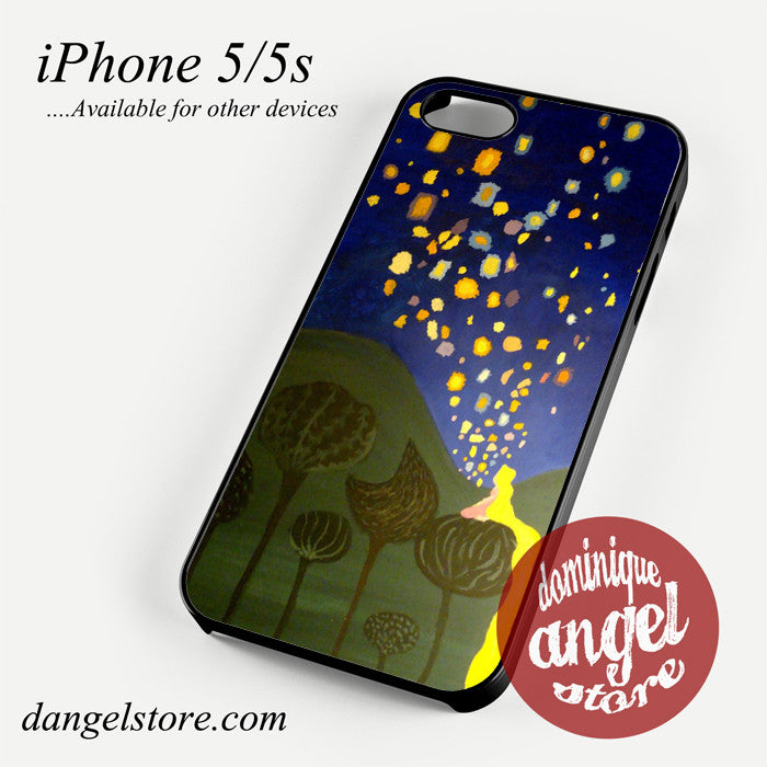 tangled floating light Phone case for iPhone 4/4s/5/5c/5s/6/6 plus