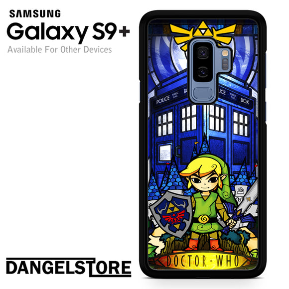 zelda tardis - Samsung Galaxy S9 Plus by Dangelstore team