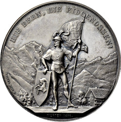 1888 Interlaken Shooting Medal