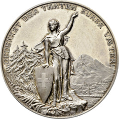 1892 Glarus Shooting Medal