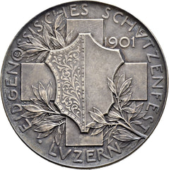 1901 Luzern Shooting Medal