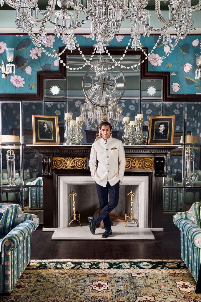 indian prince bachelor pad maximalism trend