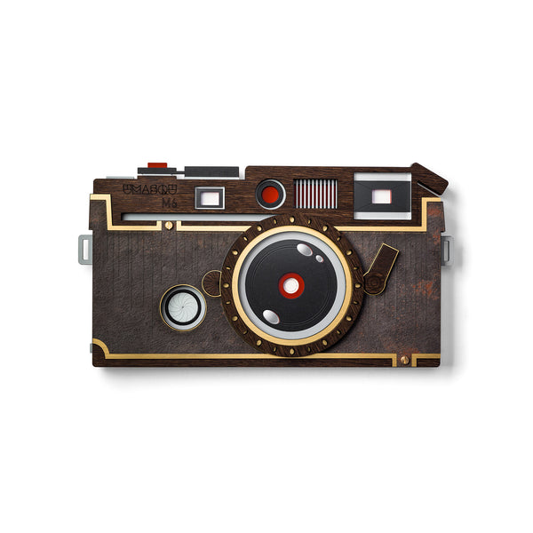 vintage camera - wall decor - wood - Umasqu