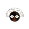 black & white round wall decor - Umasqu