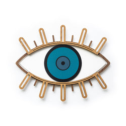blue eye wall decor - Umasqu