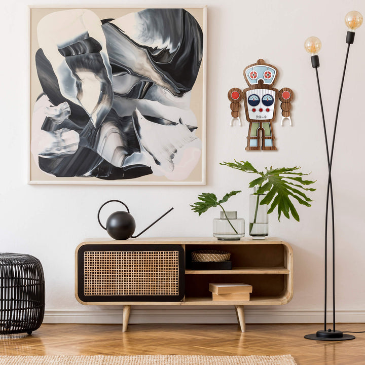 Retro Robot wall decor - Umasqu