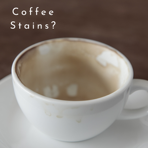 Guide to remove stains from Crockery!