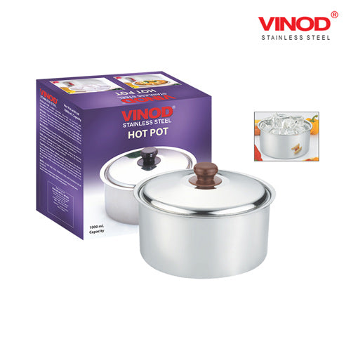 VINOD MATT FINISH 1000ML CASSEROLE