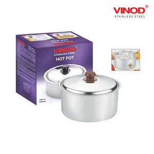 VINOD STAINLESS FINISH HOT POT 2500ML