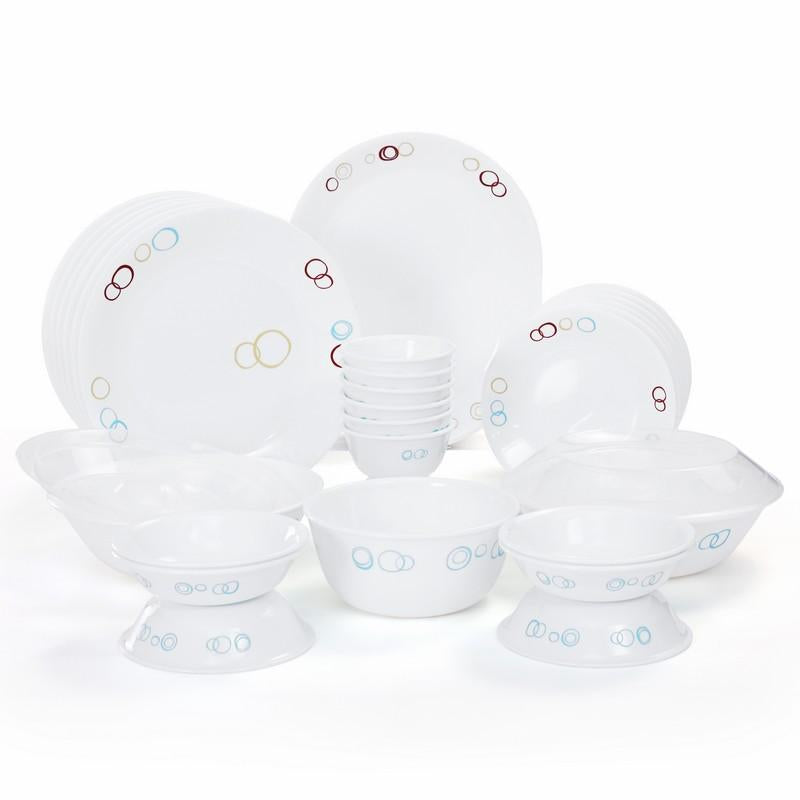 CORELLE CIRCLE 30PCS DINNER SET
