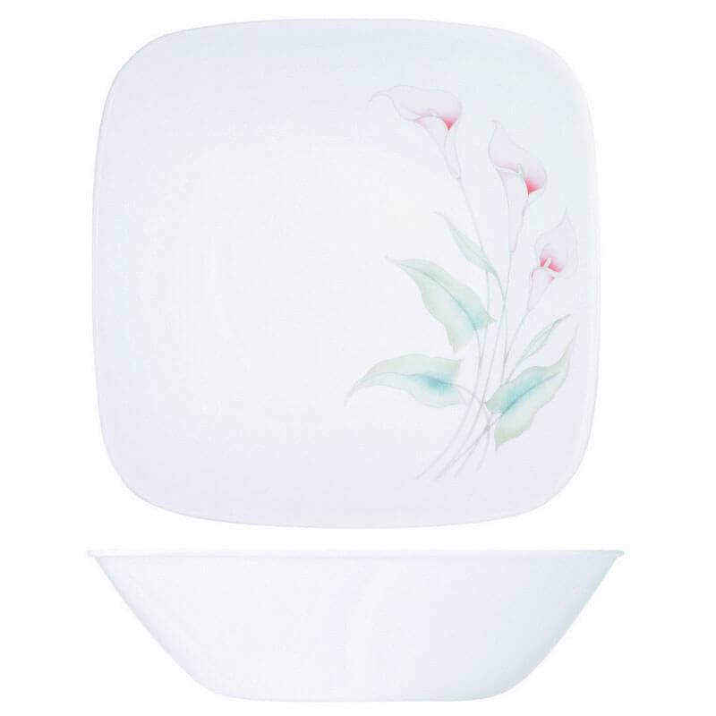 CORELLE LILLYVILLE SQ 1L SERVING BOWL