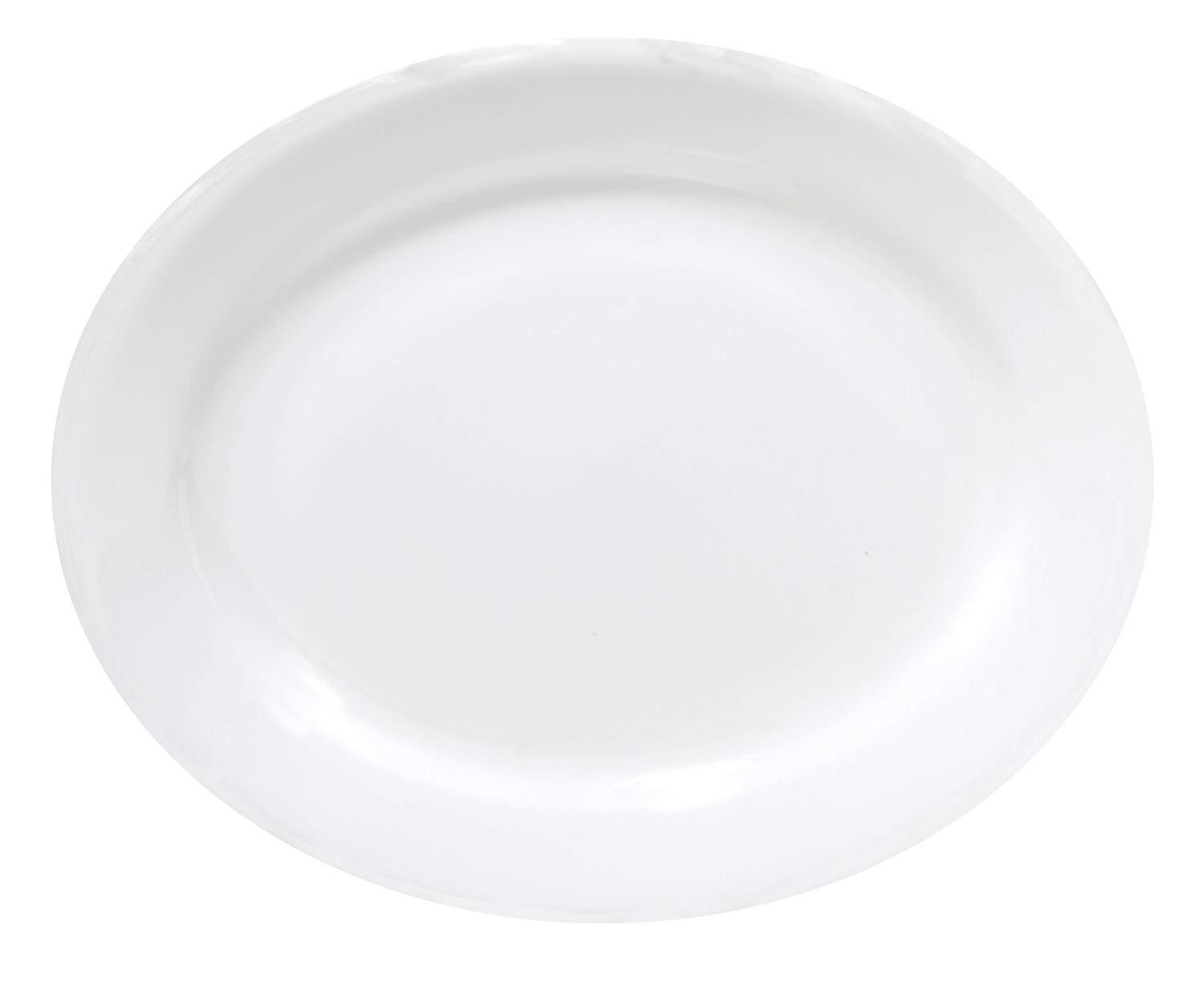 CORELLE OVAL PLATER PLATE