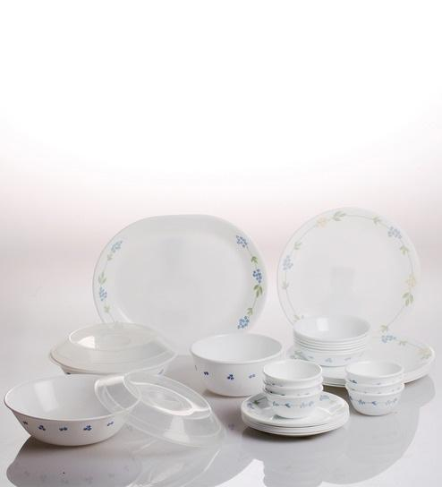 CORELLE SECRET GARDEN 30PCS DINNER SET