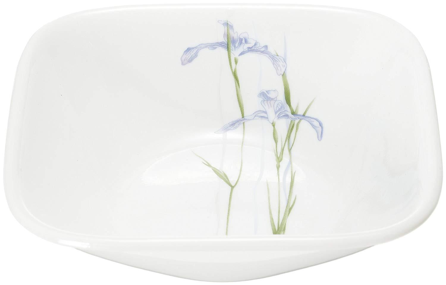 CORELLE SHADOW IRIS SQ VEG BOWL  - 6PCS