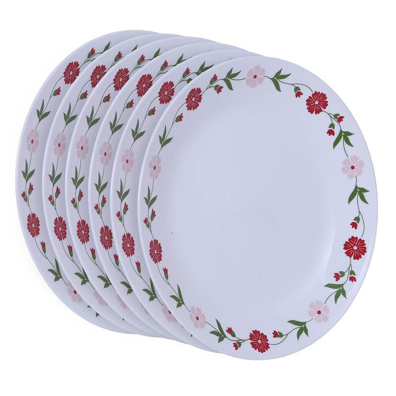 CORELLE SPRING PINK DINNER PLATE