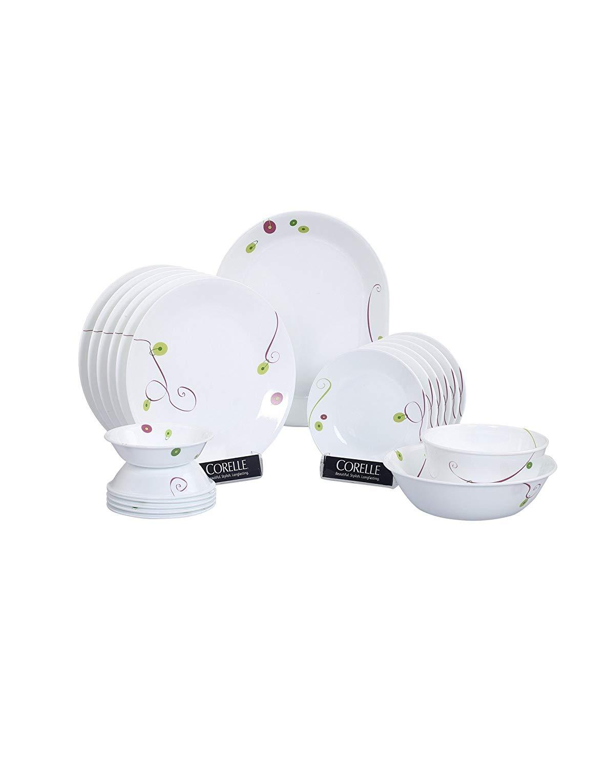 CORELLE ROYAL SEQUENCE 21PCS DINNER SET
