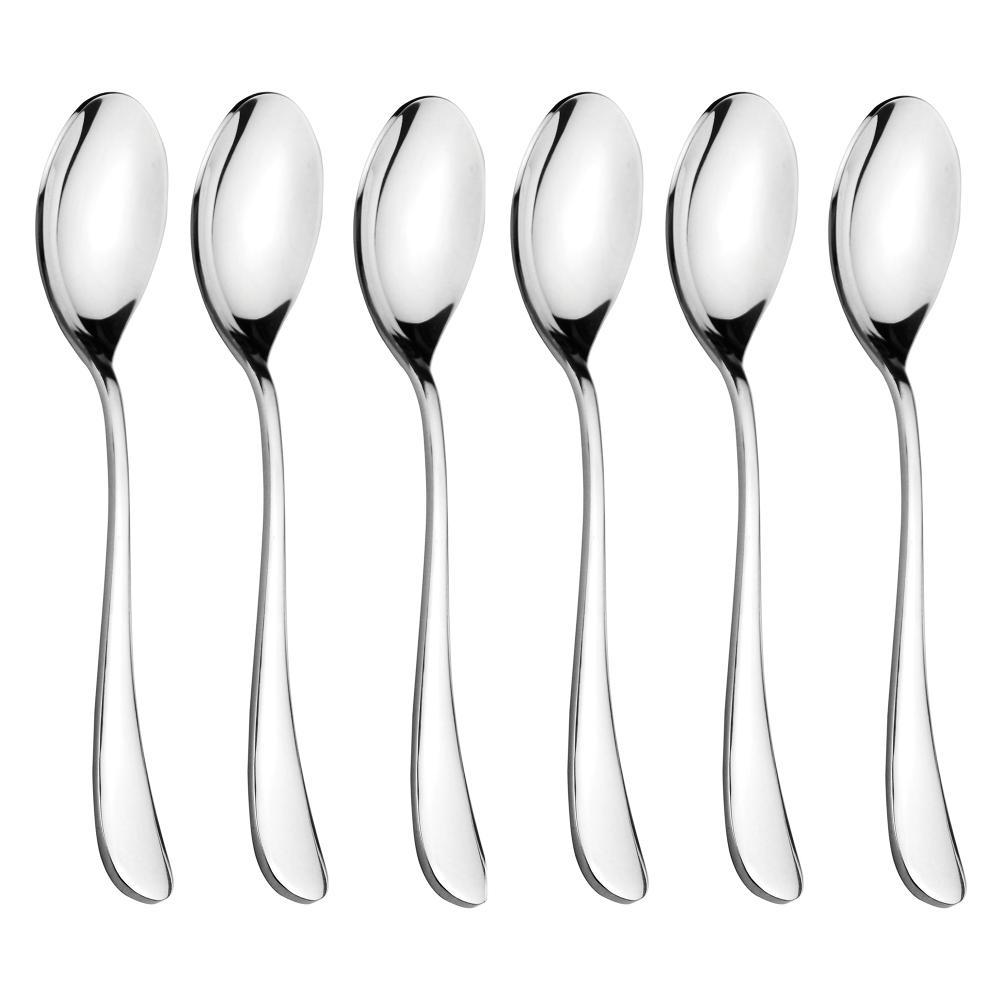 FNS VICTORIA-DESSERT SPOON  - 6PCS SET
