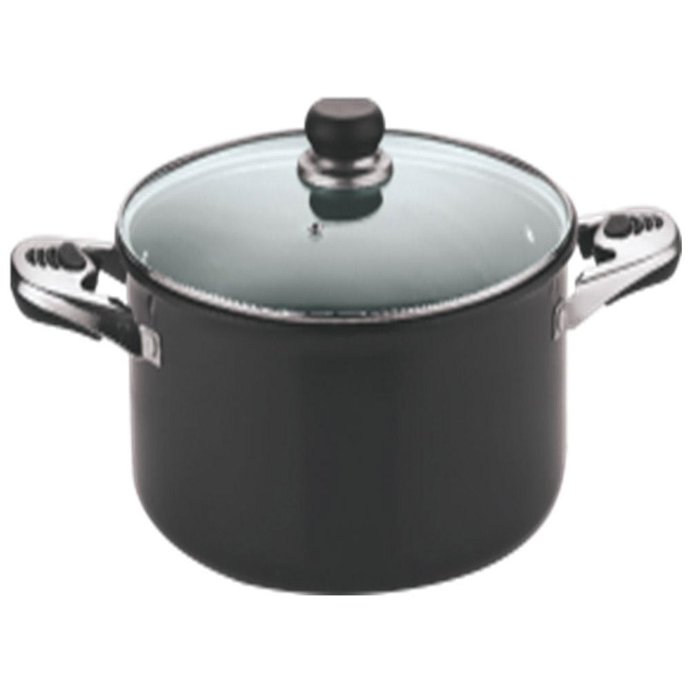 VINOD HARD ANODISED WITH LID SAUCE POT 300MM
