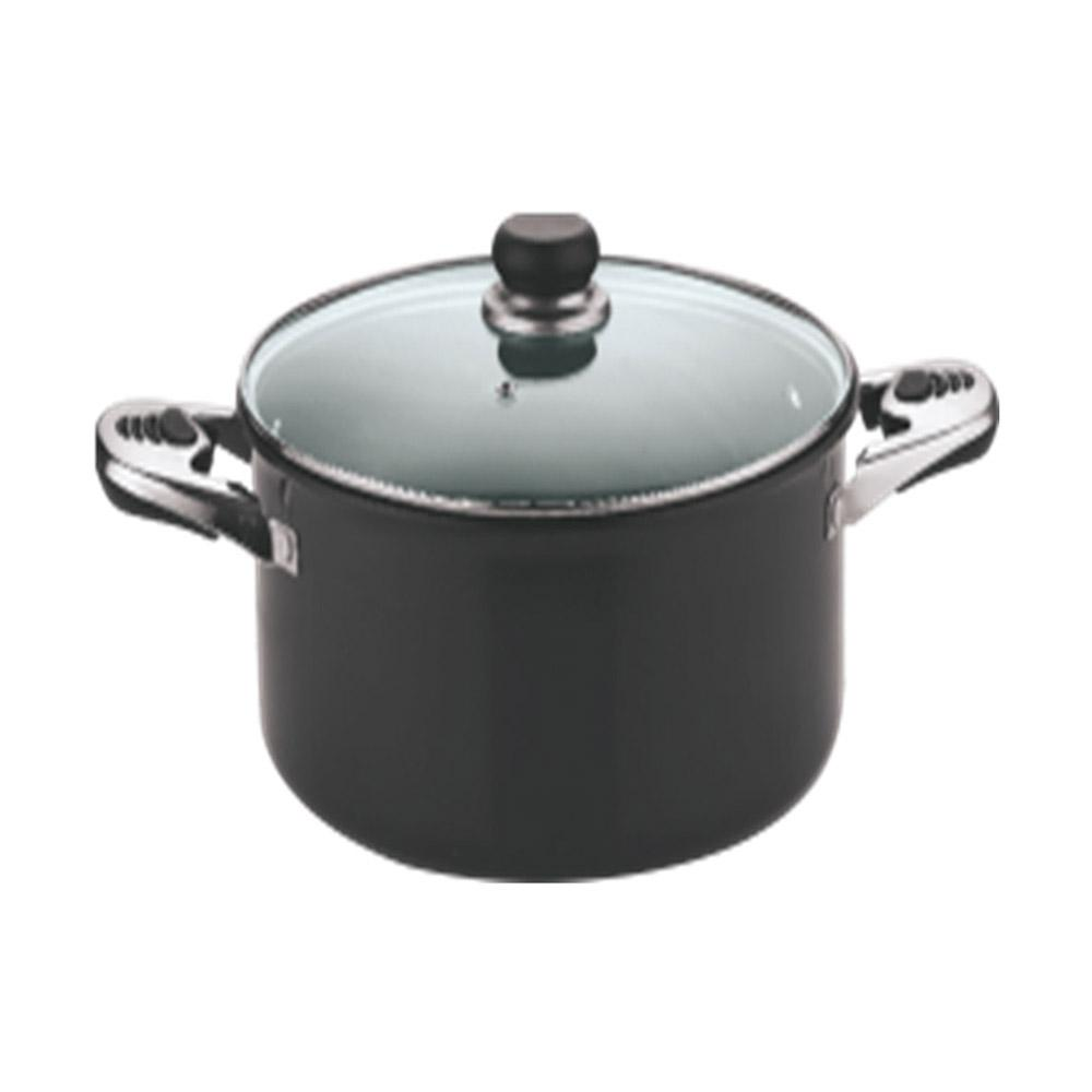 VINOD HARD ANODIZED W/L SAUCE POT 24CM