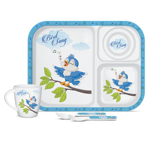 MILTON MELAMINE KIDS 4 PCS GIFT SET