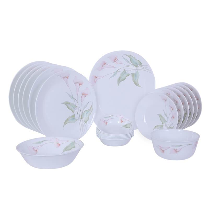 CORELLE LILLYVILLE DINNER SET