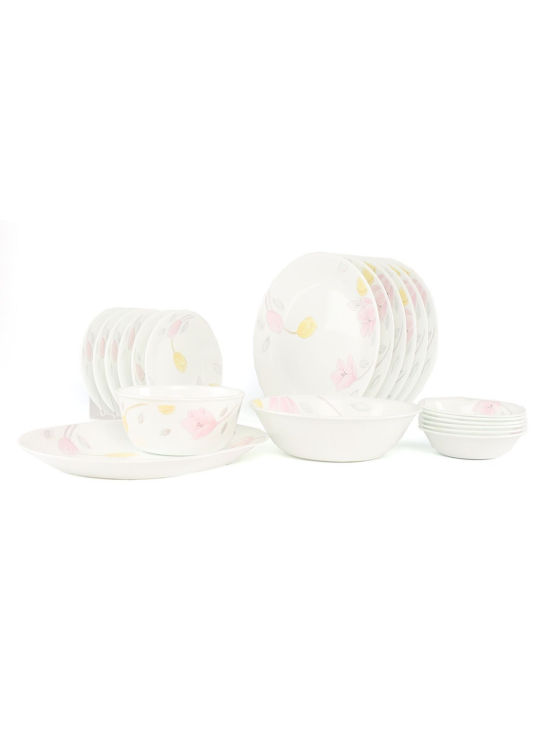 CORELLE ELEGANT CITY RD DINNER SET