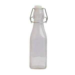 ESTEEM 6096 GLASS WATER BOTTLE RECT W/CLIP 500ML