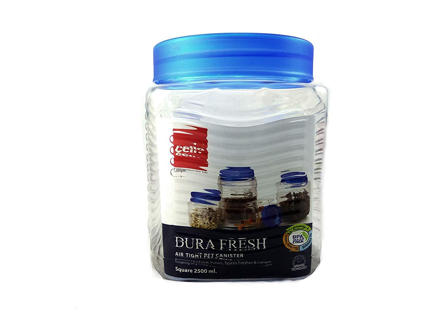 CELLO DURA FRESH 500ML 3PCS SET