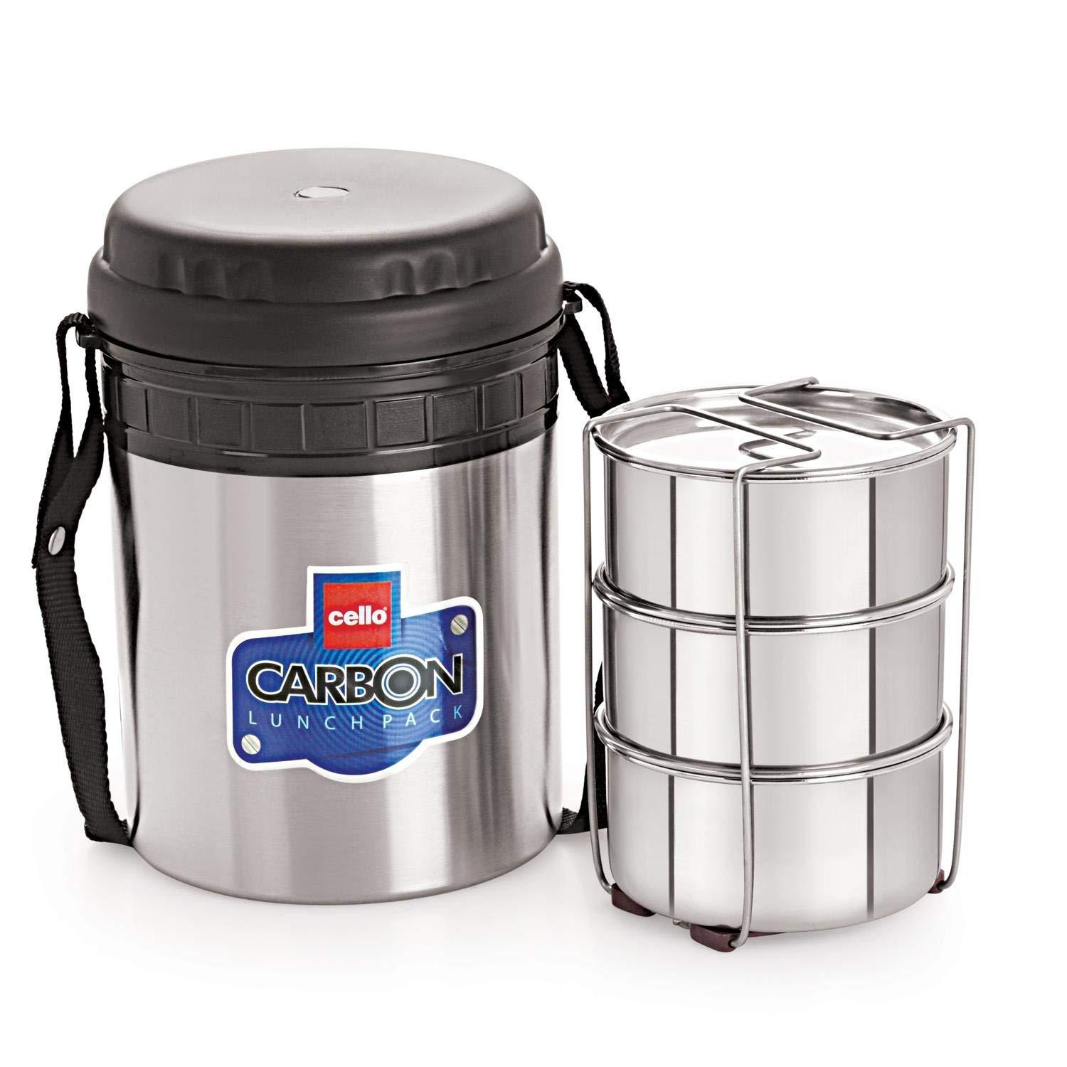 CELLO CARBON 3 LUNCH BOX