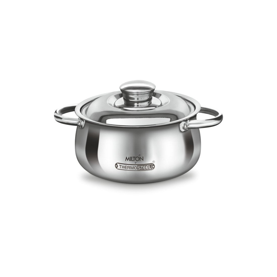 MILTON CAESAR INSULATED STEEL CASSEROLE 1000
