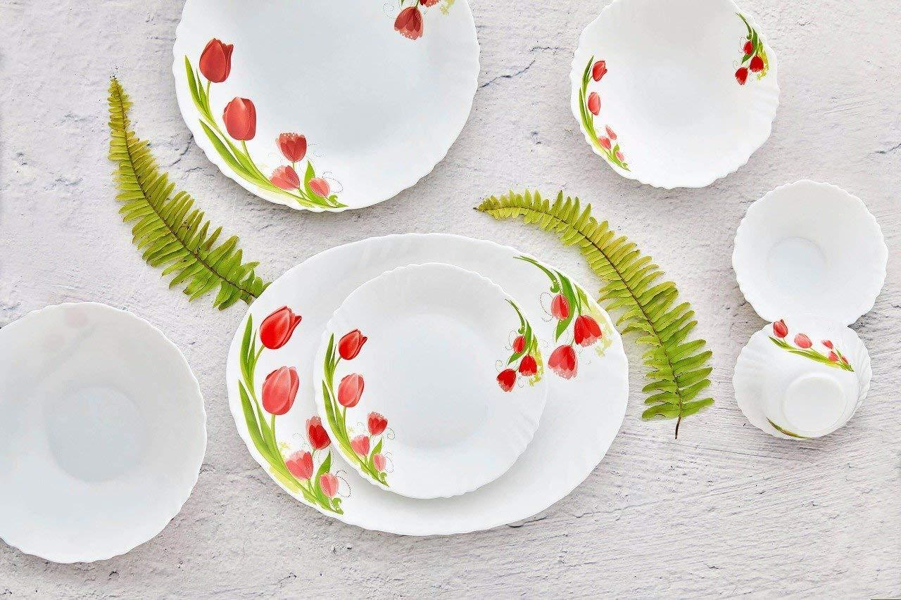 CELLO OPAL ROYALE 19PCS DINNER SET