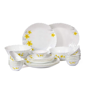 CELLO OPAL IMPERIAL DINNER SET 21PCS AMAZON CREEPER