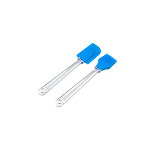 PJ V3037 SILLICON PASTRY BRUSH AND SPATULA SET