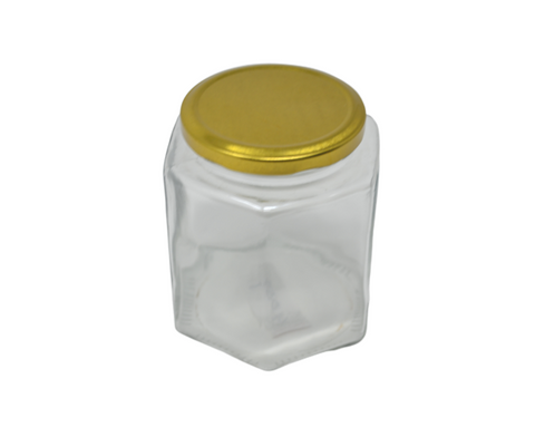 ESTEEM V4059 BRASS LID JAR HEX