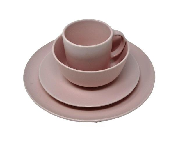 ESTEEM V4135 STONEWARE 16PC DINNER SET PINK