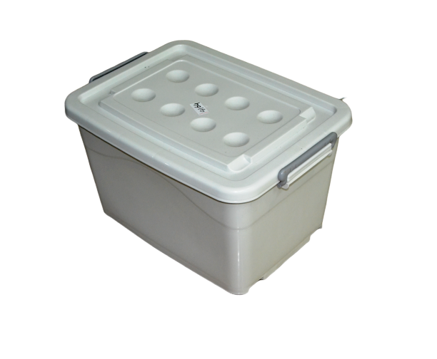 ESTEEM V4165 PLASTIC STORAGE BOX 50L SOLID