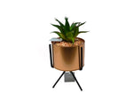 ESTEEM V4210 ART FLOWER W/POT W/STAND BLACK