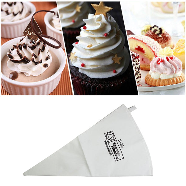 BAKERS CLOTH PIPING BAG 35CM