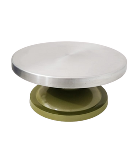 BAKERS ALUMINIUM TOP CAKE STAND