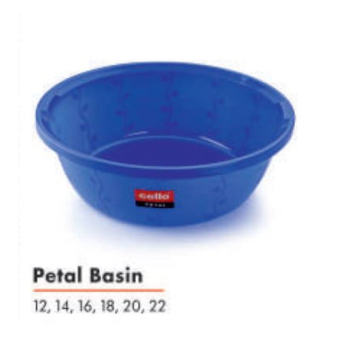 CELLO PETAL BASIN 14 CLEAR/HD