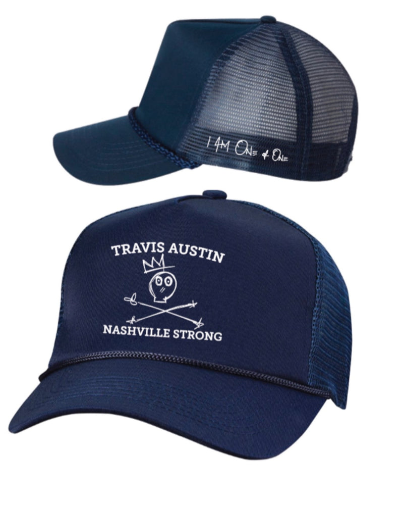 Nashville Strong Rope Trucker [Navy]